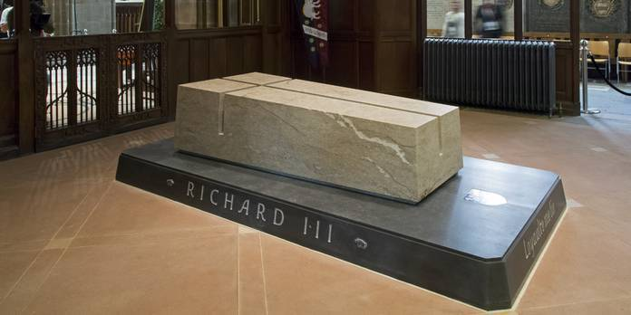 The tomb of King Richard III